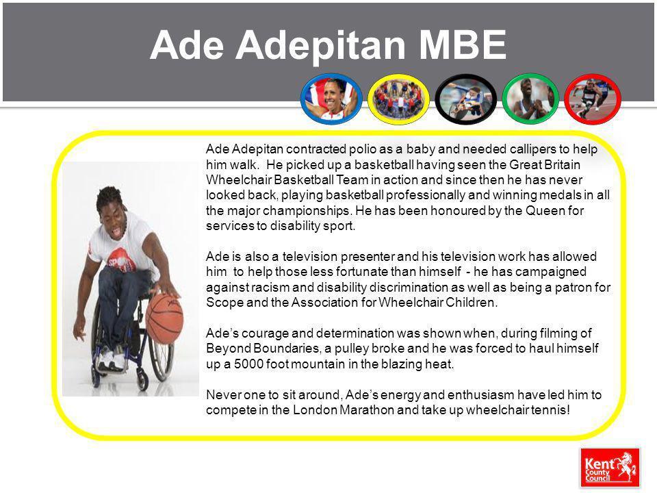 Ade Adepitan MBE