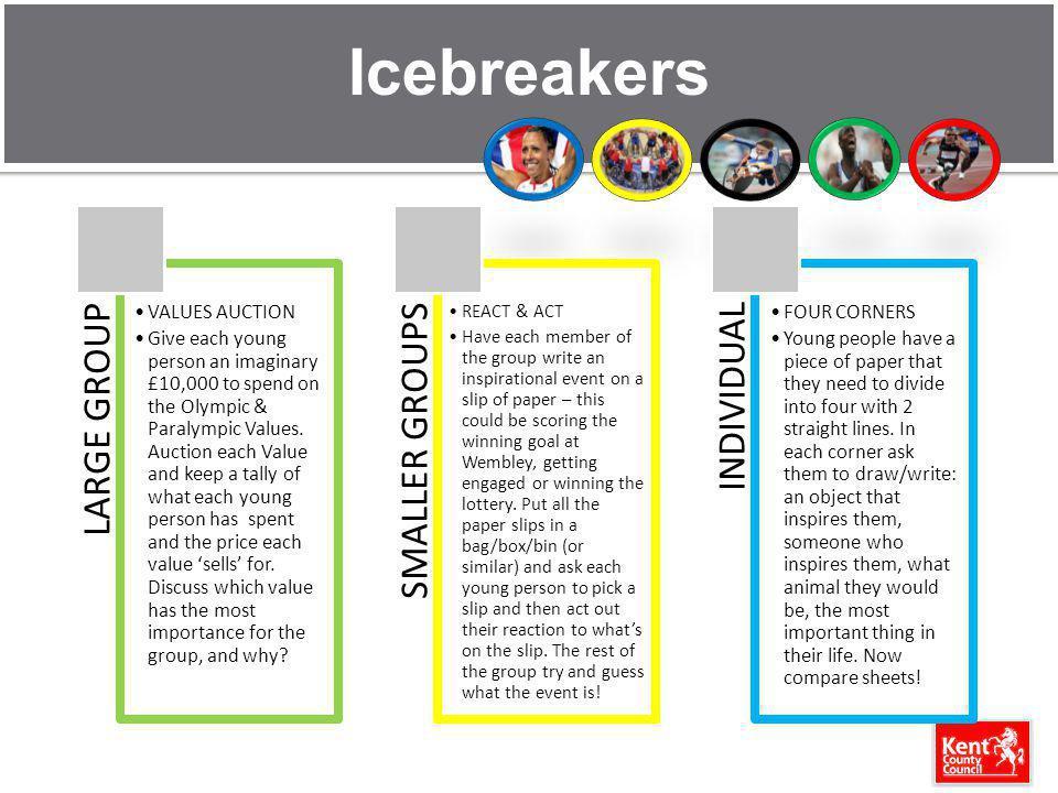 Icebreakers REACT & ACT