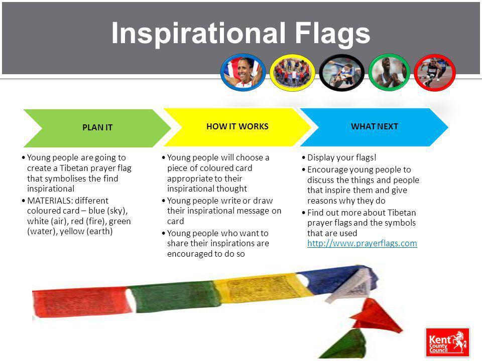 Inspirational Flags PLAN IT