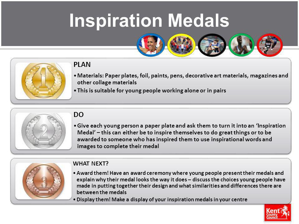 Inspiration Medals WHAT NEXT