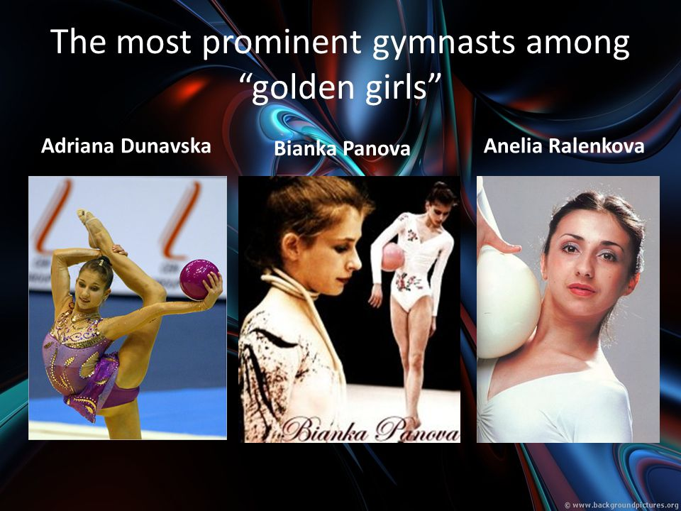 The most prominent gymnasts among golden girls