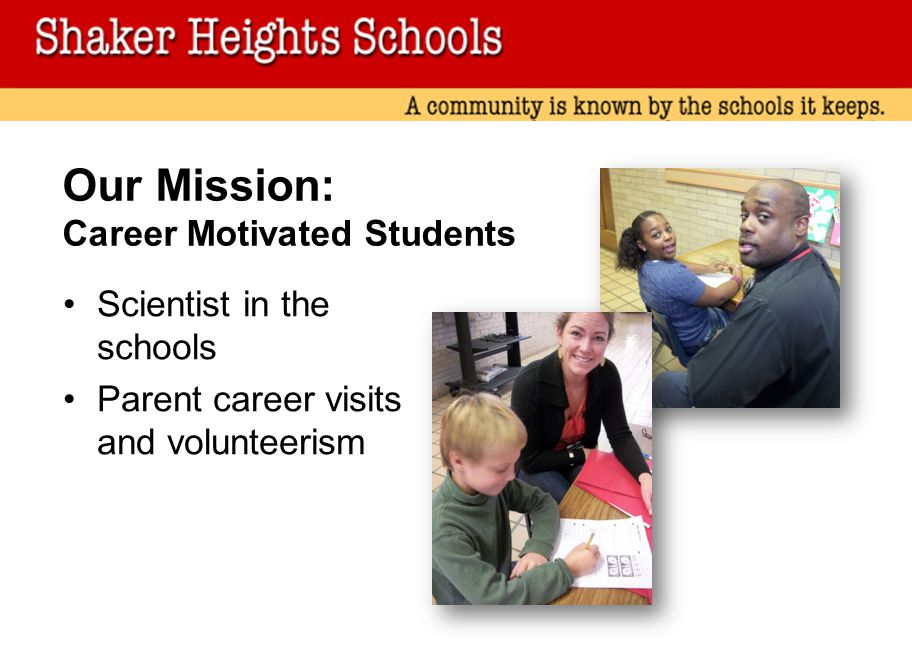 Our Mission: Career Motivated Students