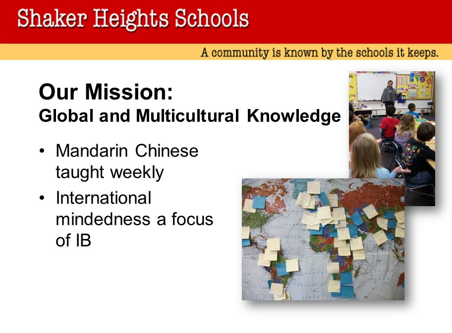 Our Mission: Global and Multicultural Knowledge