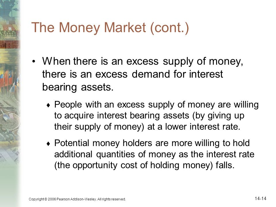 The Money Market (cont.)