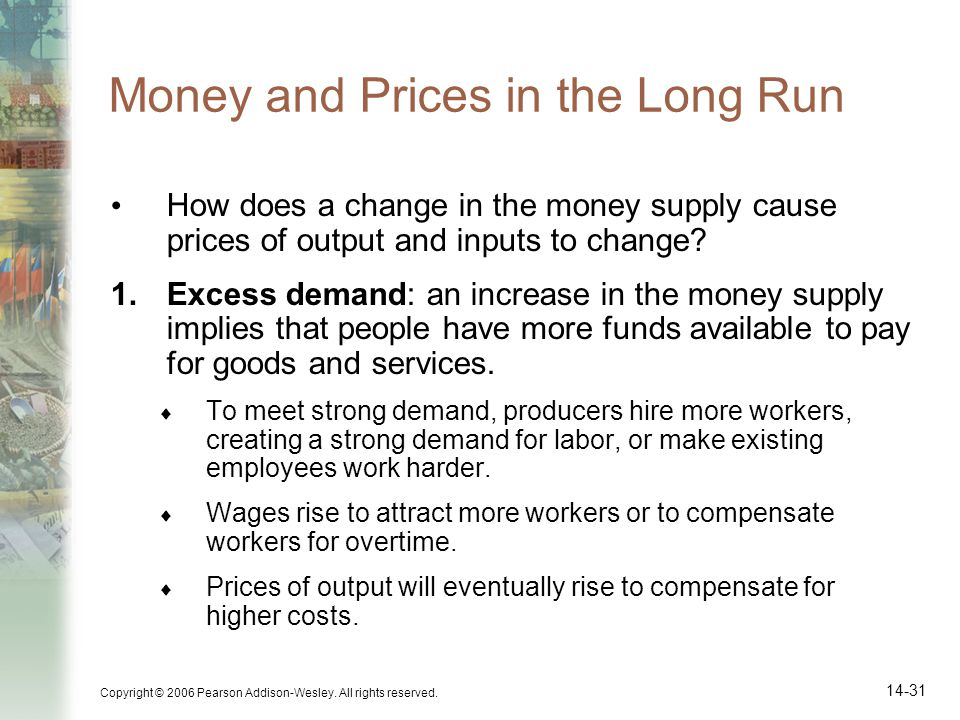 Money and Prices in the Long Run