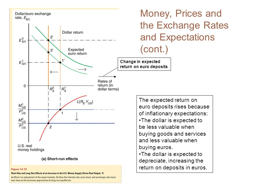 Money, Prices and the Exchange Rates and Expectations (cont.)