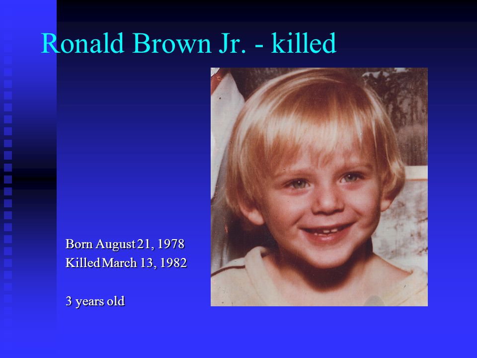 Ronald Brown Jr. - killed