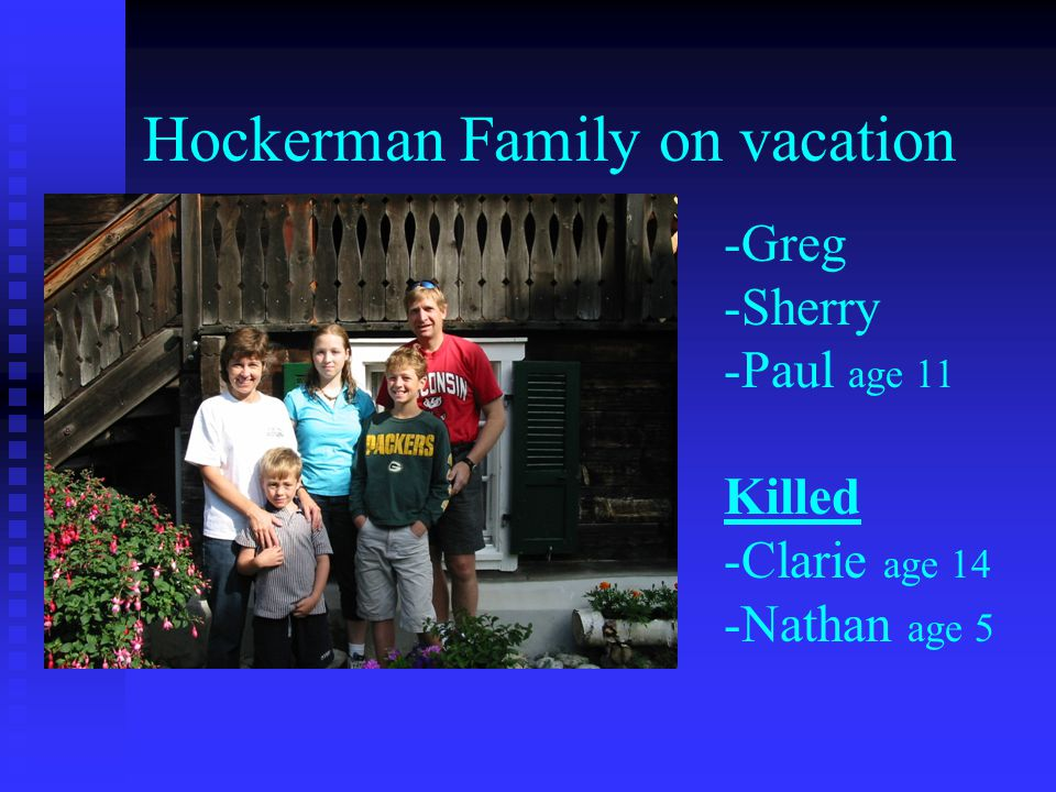 Hockerman Family on vacation
