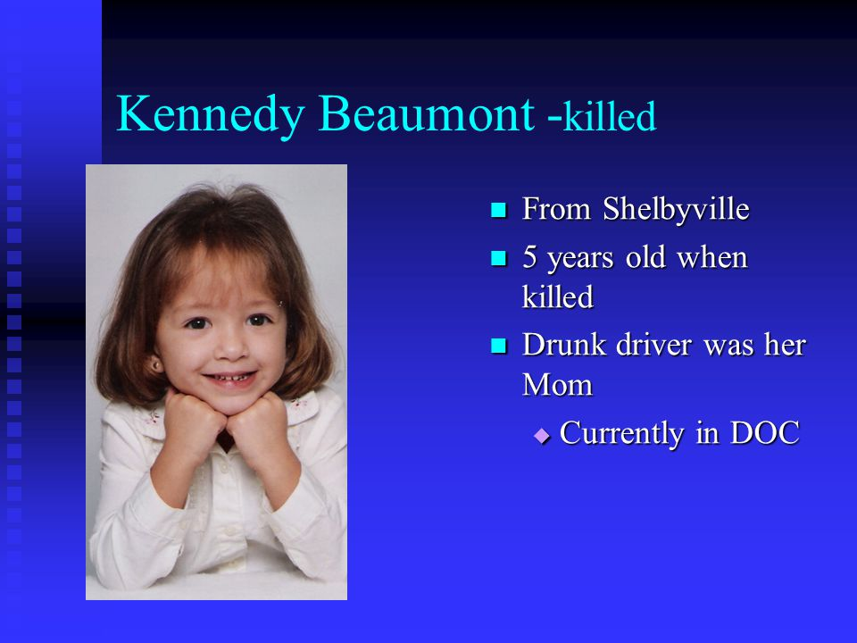 Kennedy Beaumont -killed
