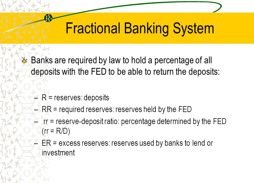 Fractional Banking System