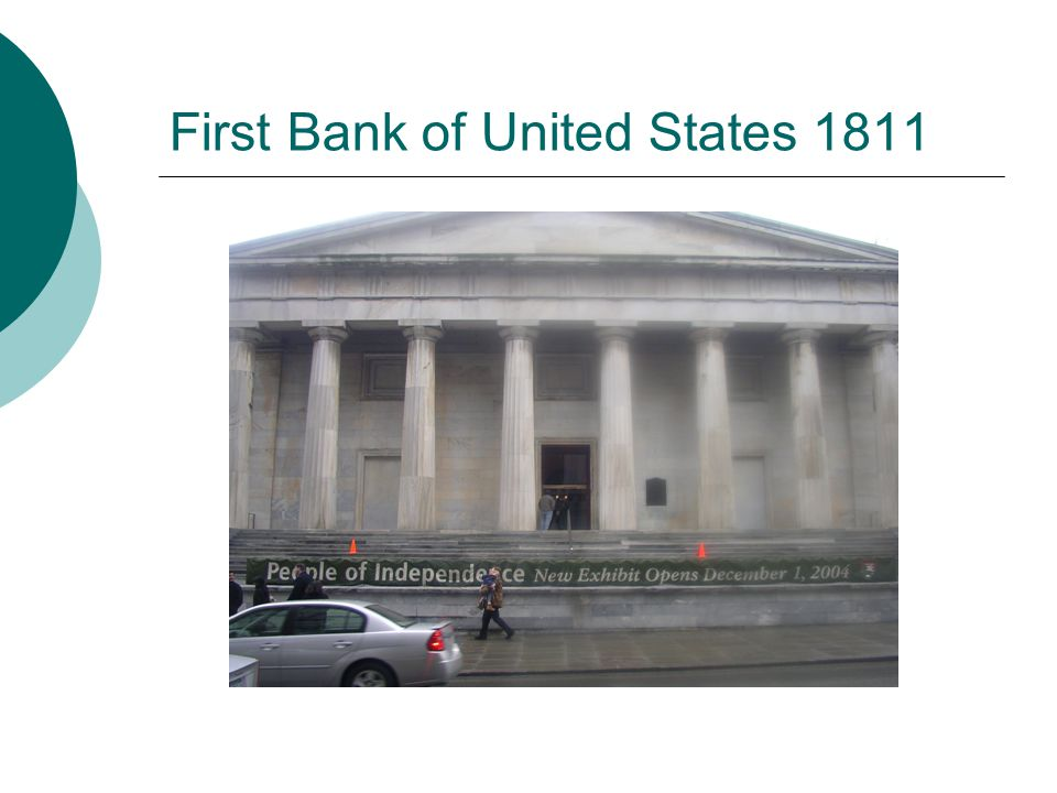 First Bank of United States 1811