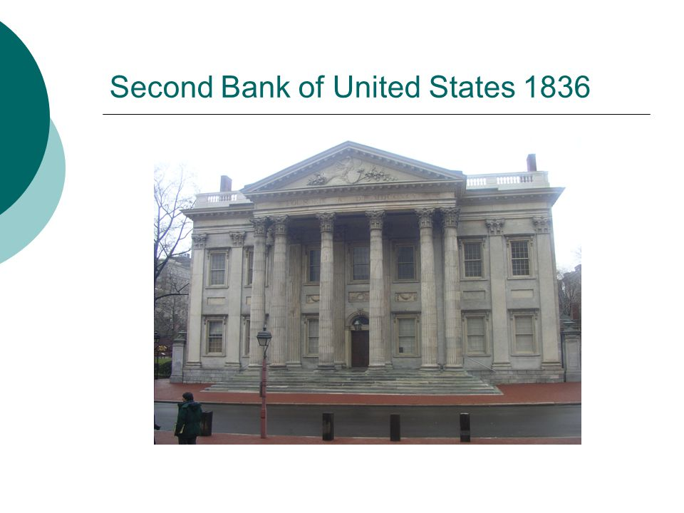 Second Bank of United States 1836