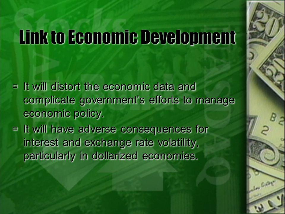 Link to Economic Development