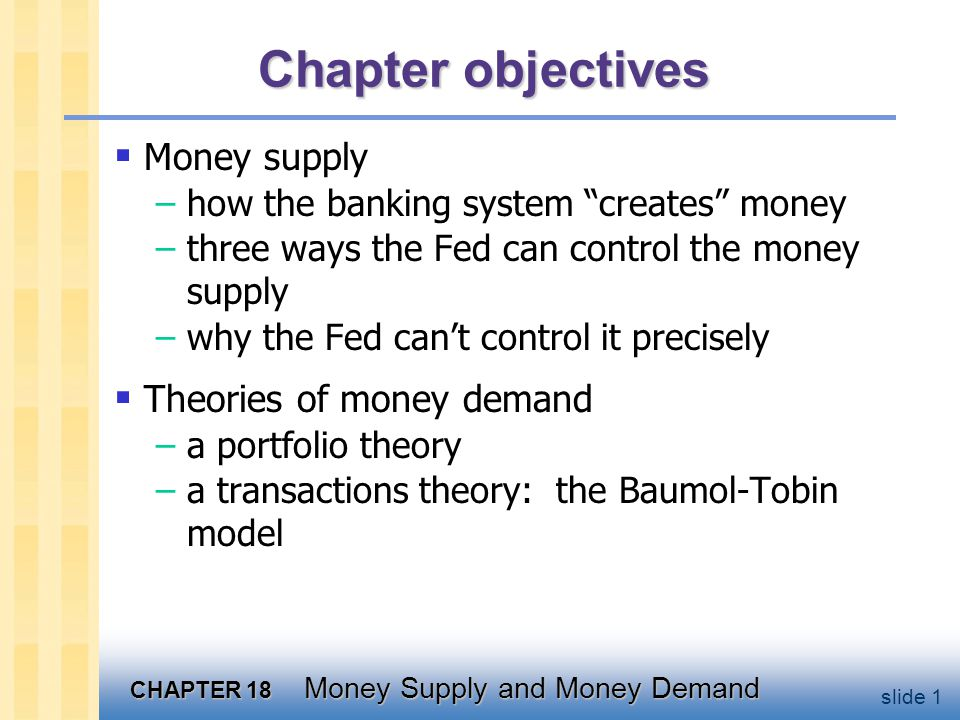 Banks' role in the money supply