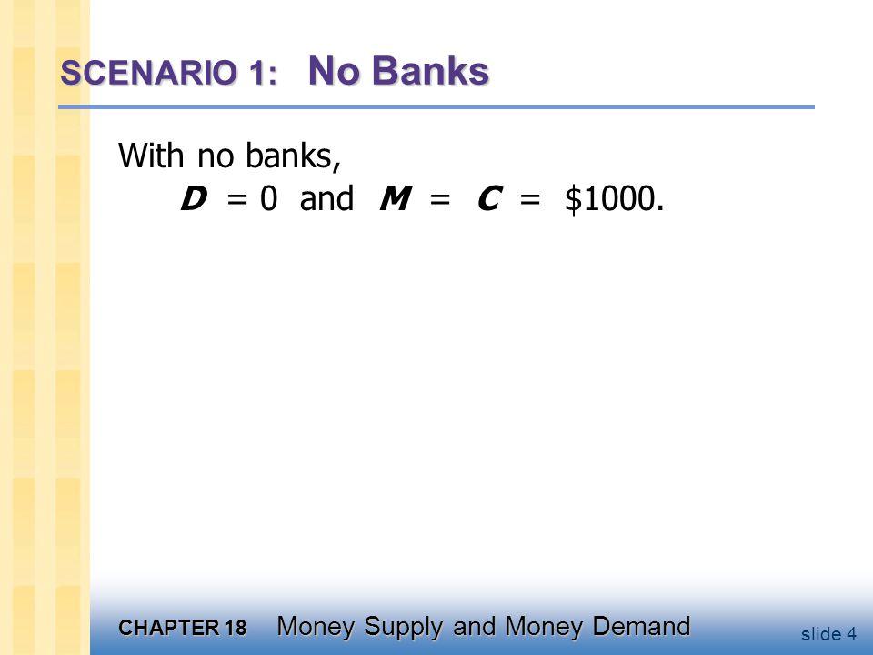 SCENARIO 2: 100 Percent Reserve Banking