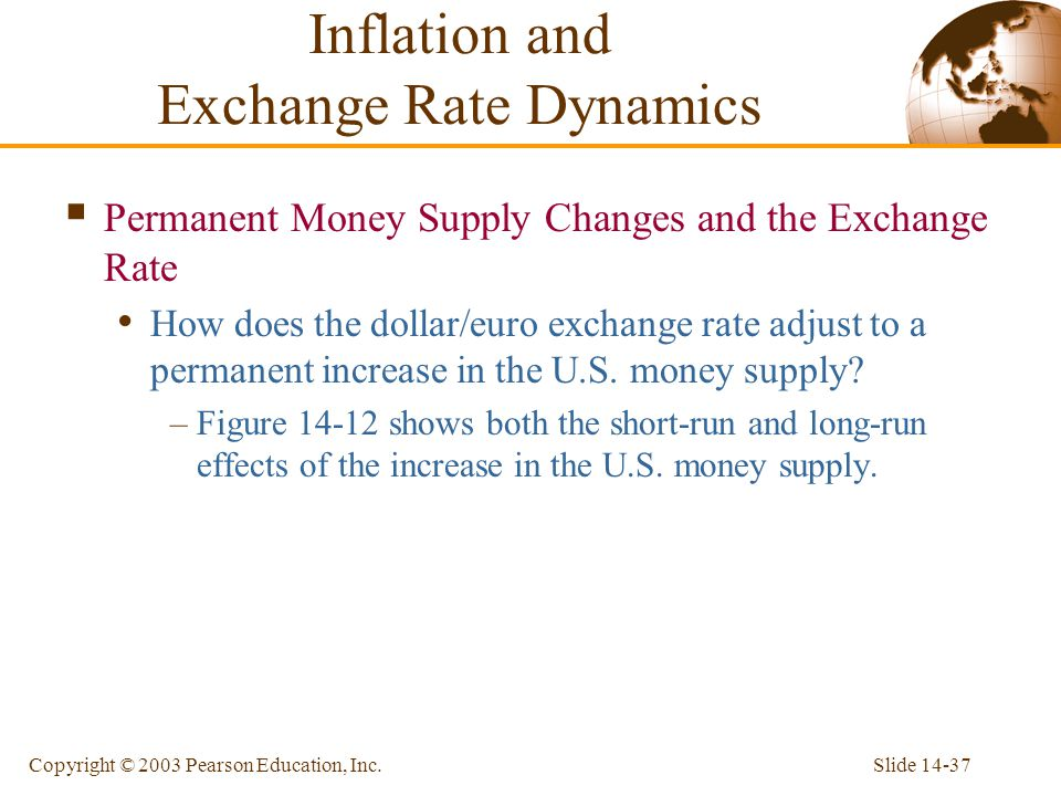 Inflation and Exchange Rate Dynamics