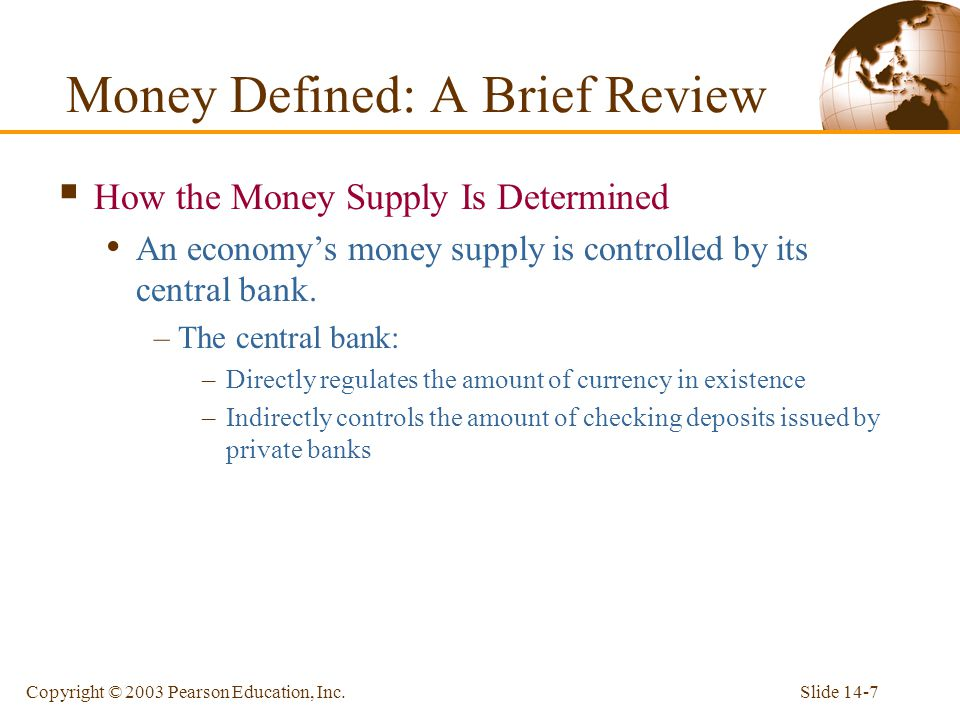 Money Defined: A Brief Review