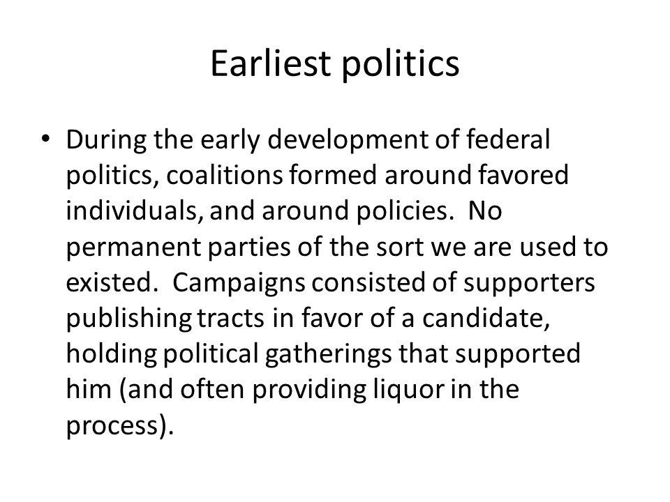 Earliest politics