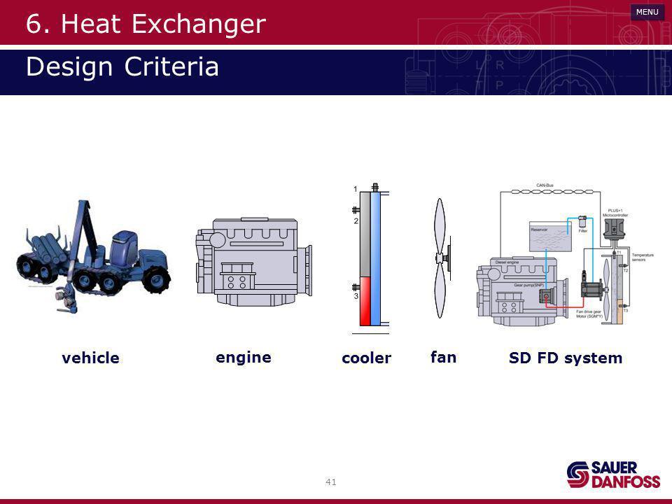 6. Heat Exchanger Design Criteria