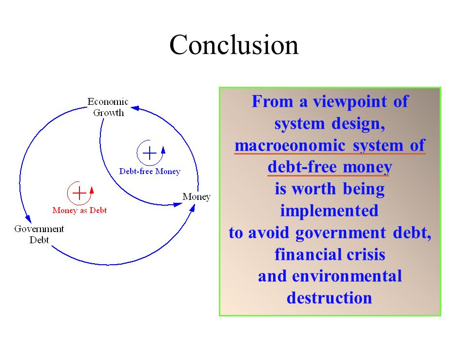 Conclusion From a viewpoint of system design,