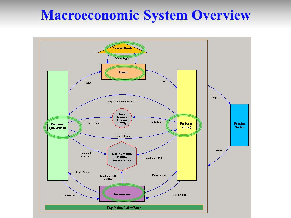 Macroeconomic System Overview