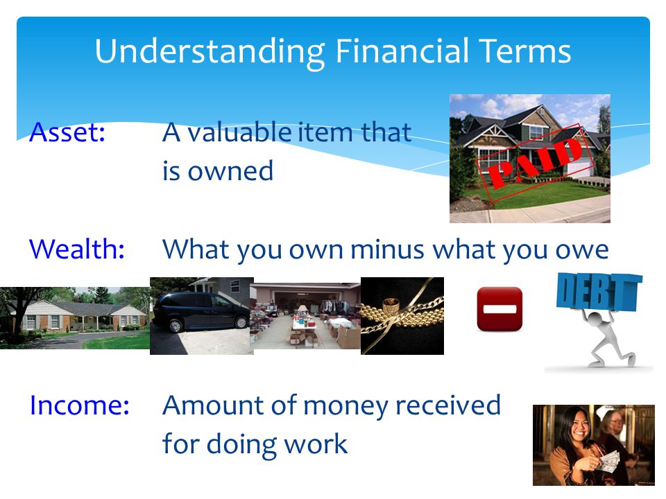 Understanding Financial Terms