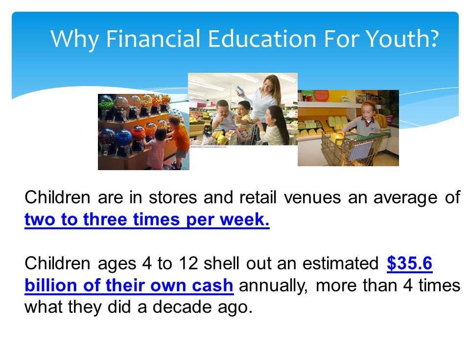Why Financial Education For Youth