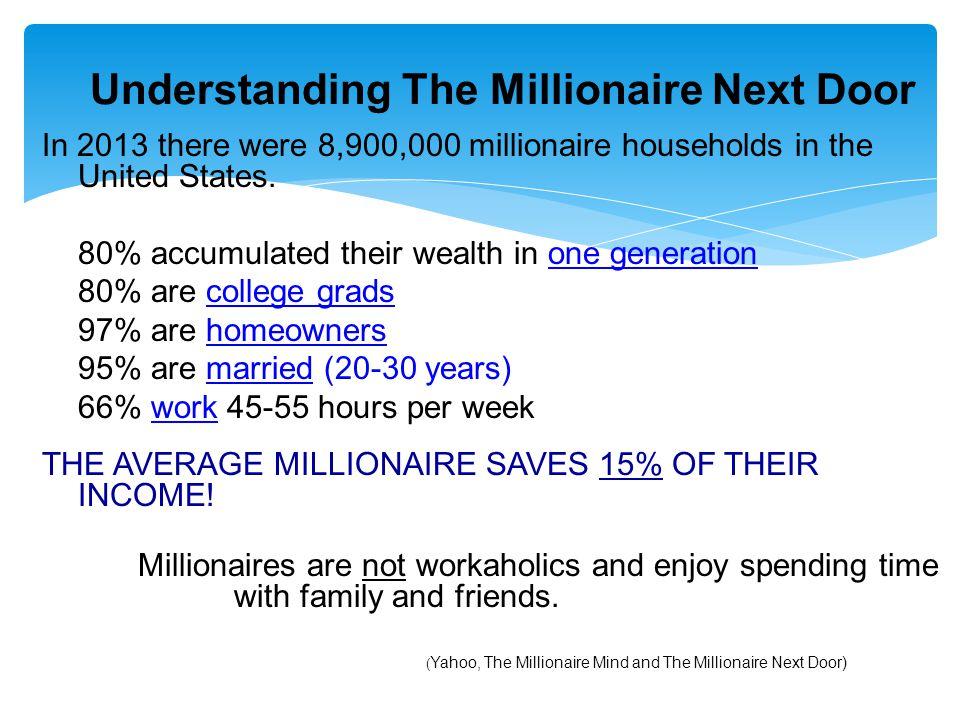 Understanding The Millionaire Next Door