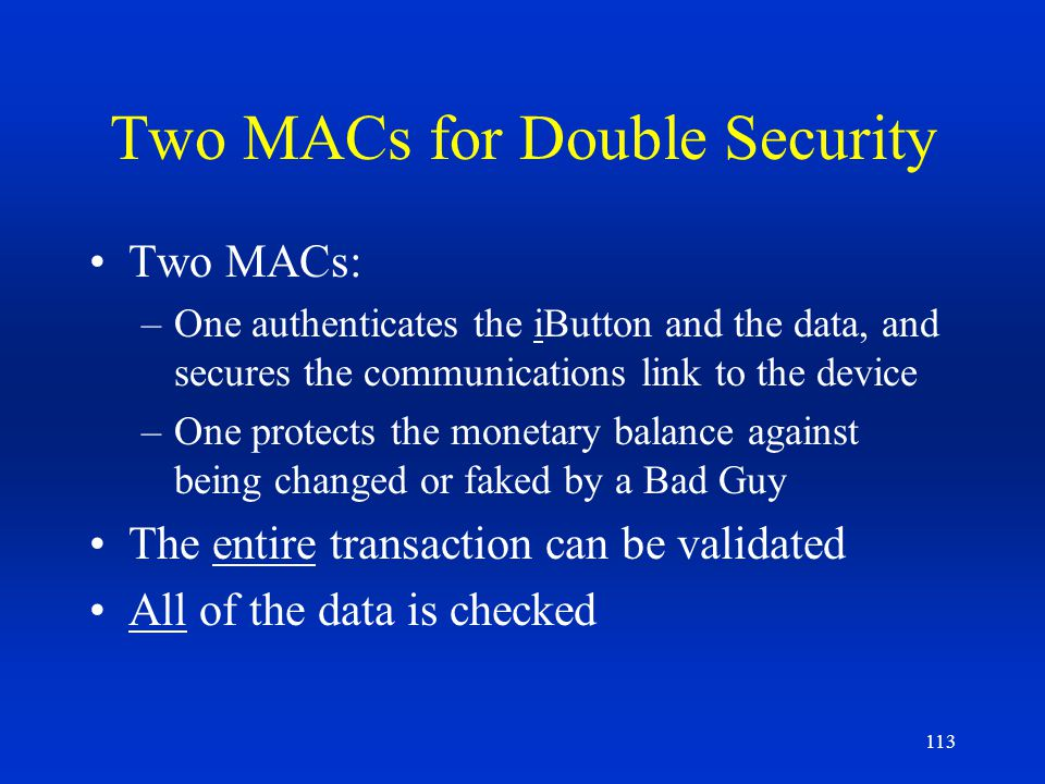 Two MACs for Double Security