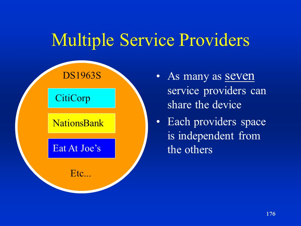 Multiple Service Providers