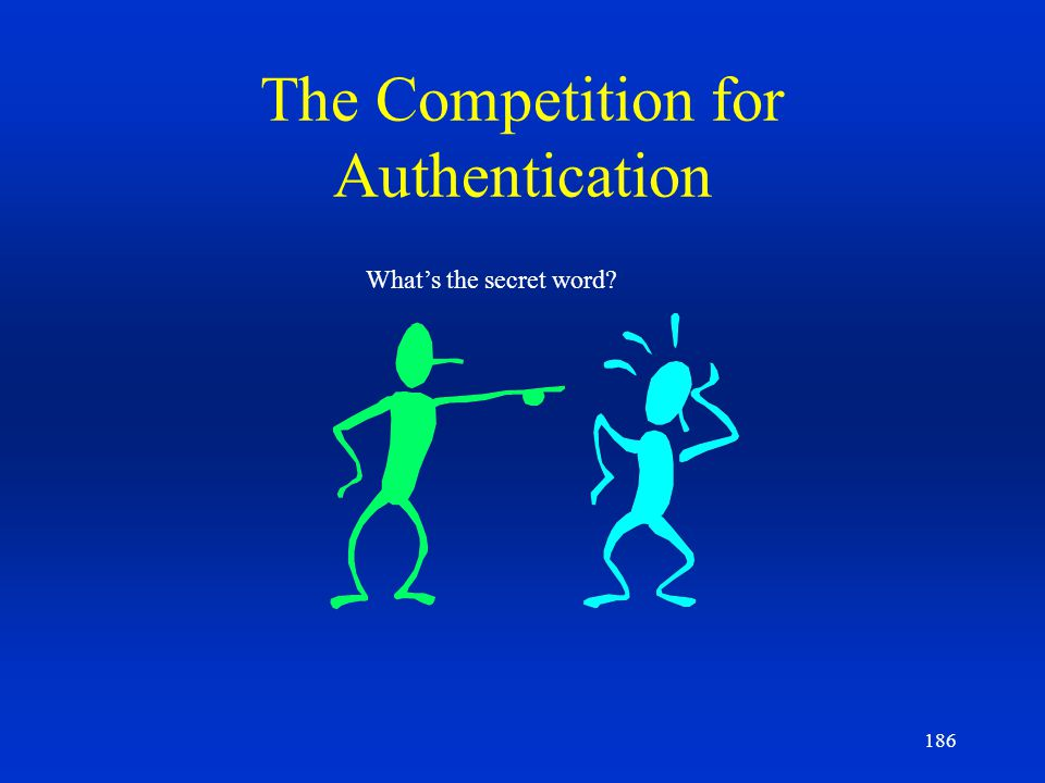 The Competition for Authentication