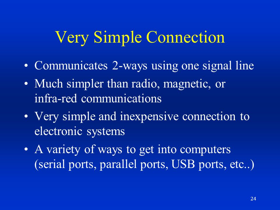 Very Simple Connection