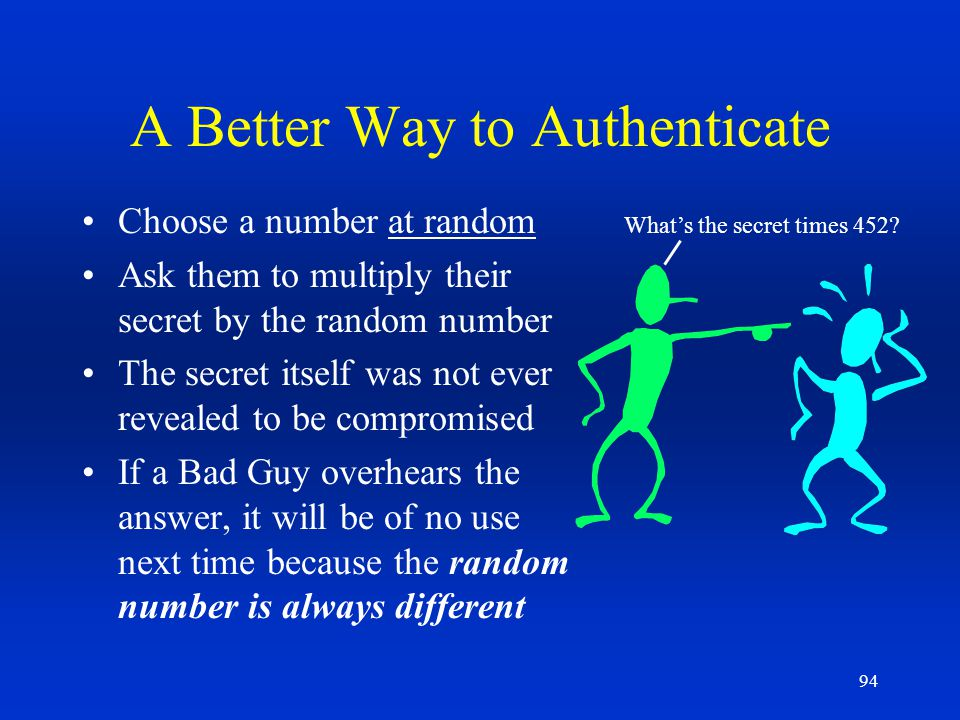 A Better Way to Authenticate