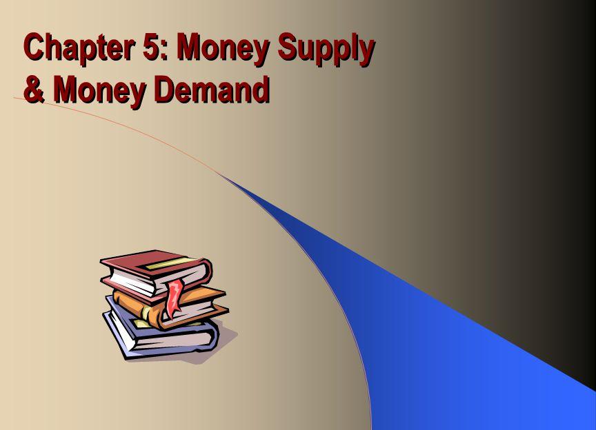 Chapter 5: Money Supply & Money Demand