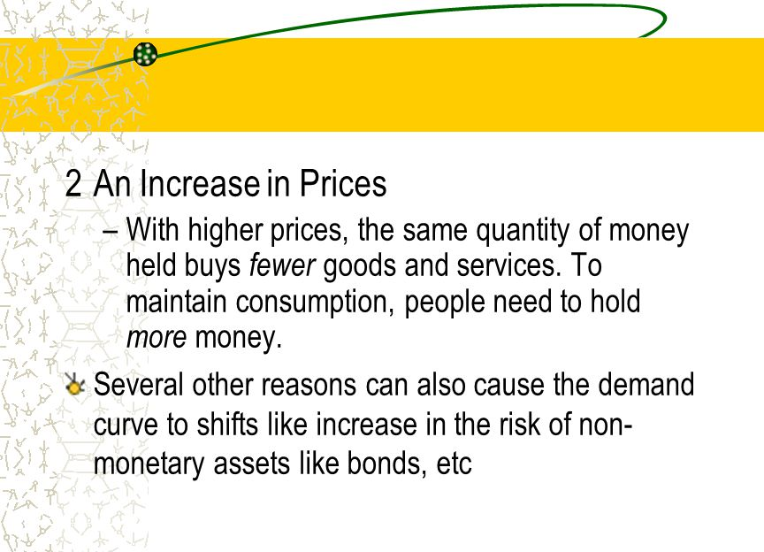 2 An Increase in Prices