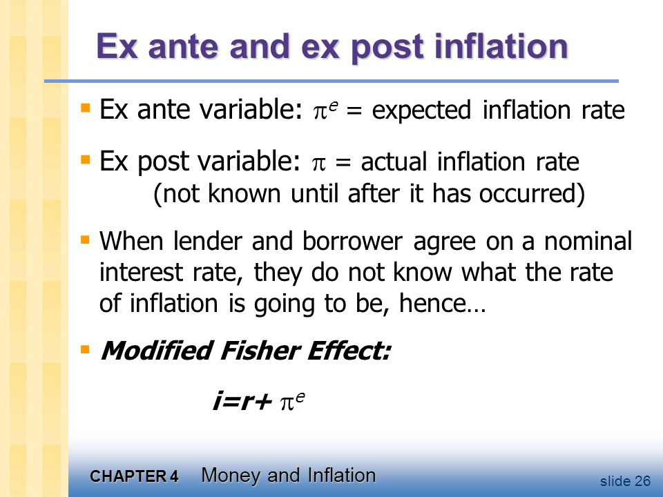 Nominal interest rate and the demand for money