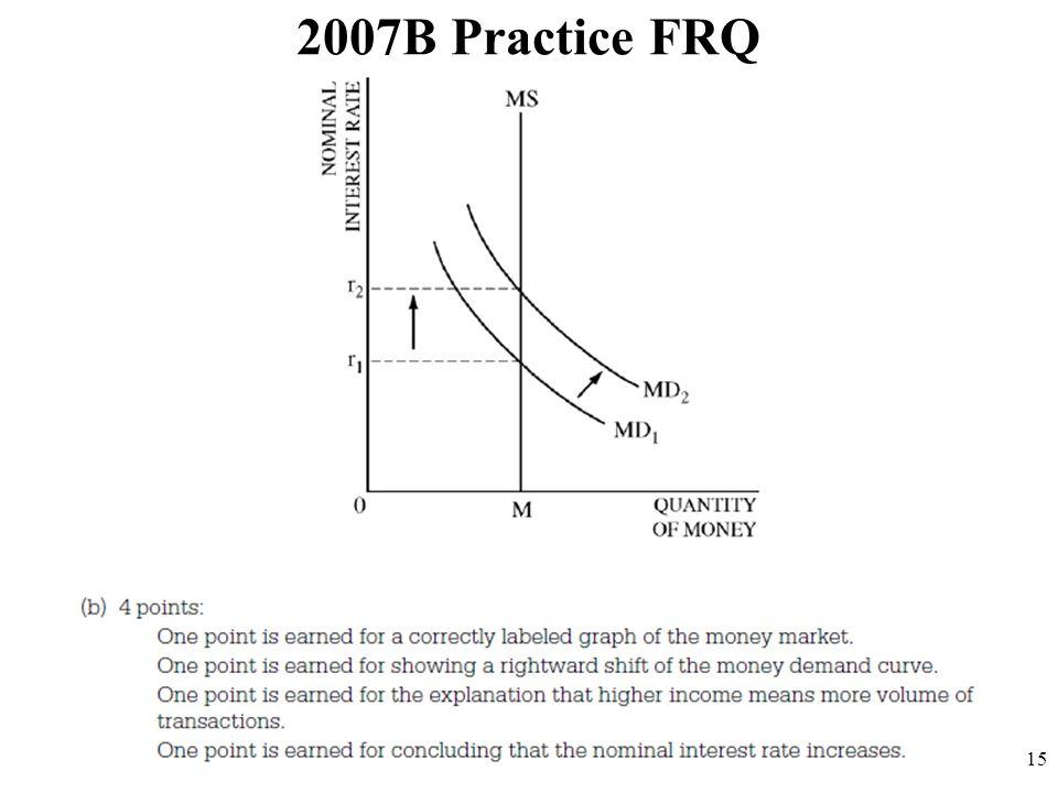 2007B Practice FRQ 15