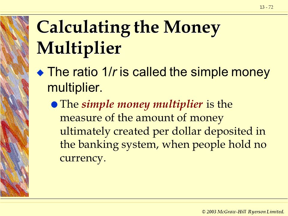 Calculating the Money Multiplier