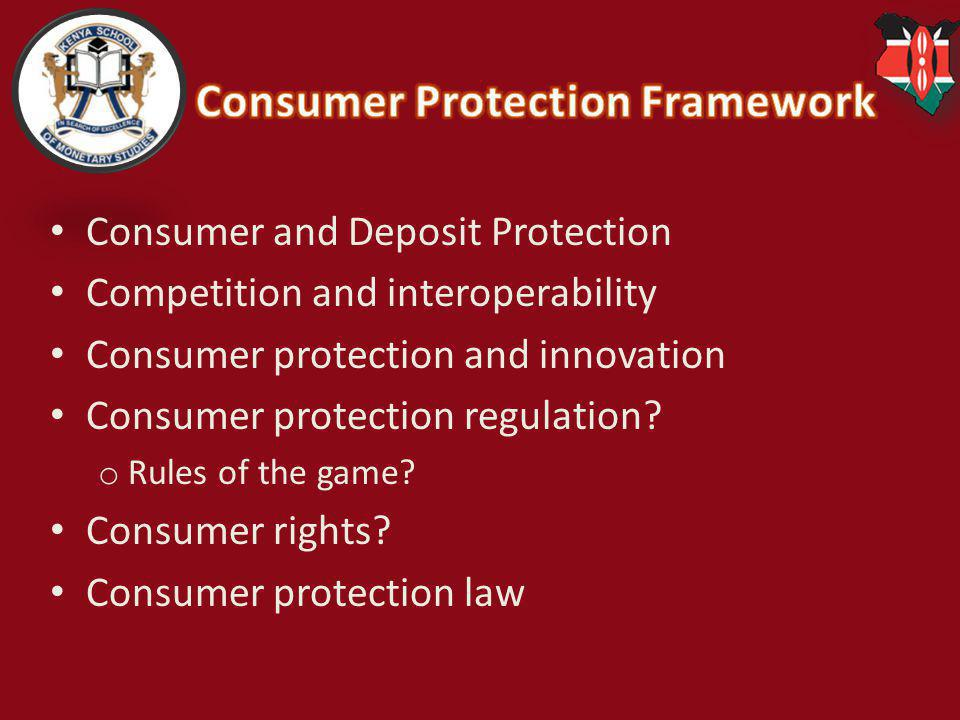Consumer Protection Framework