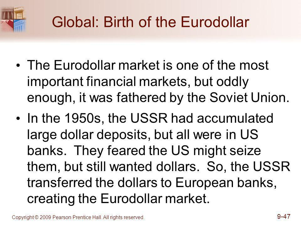 Global: Birth of the Eurodollar