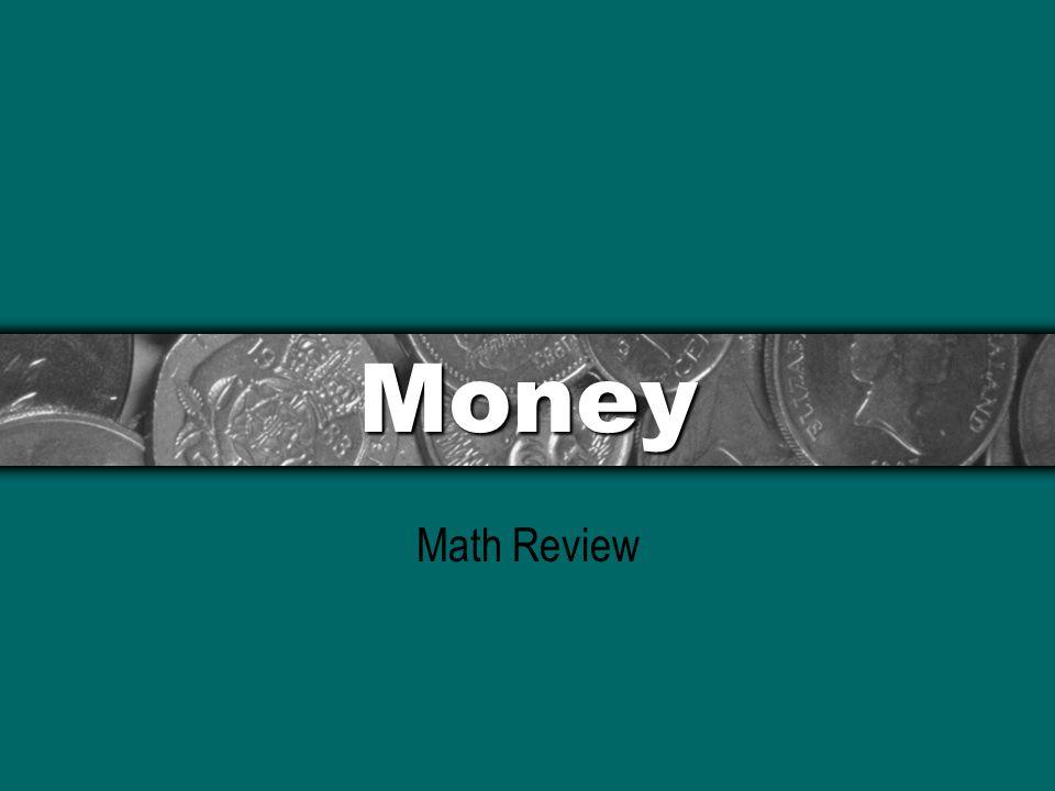 Money Math Review