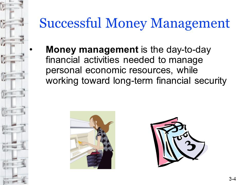 Successful Money Management