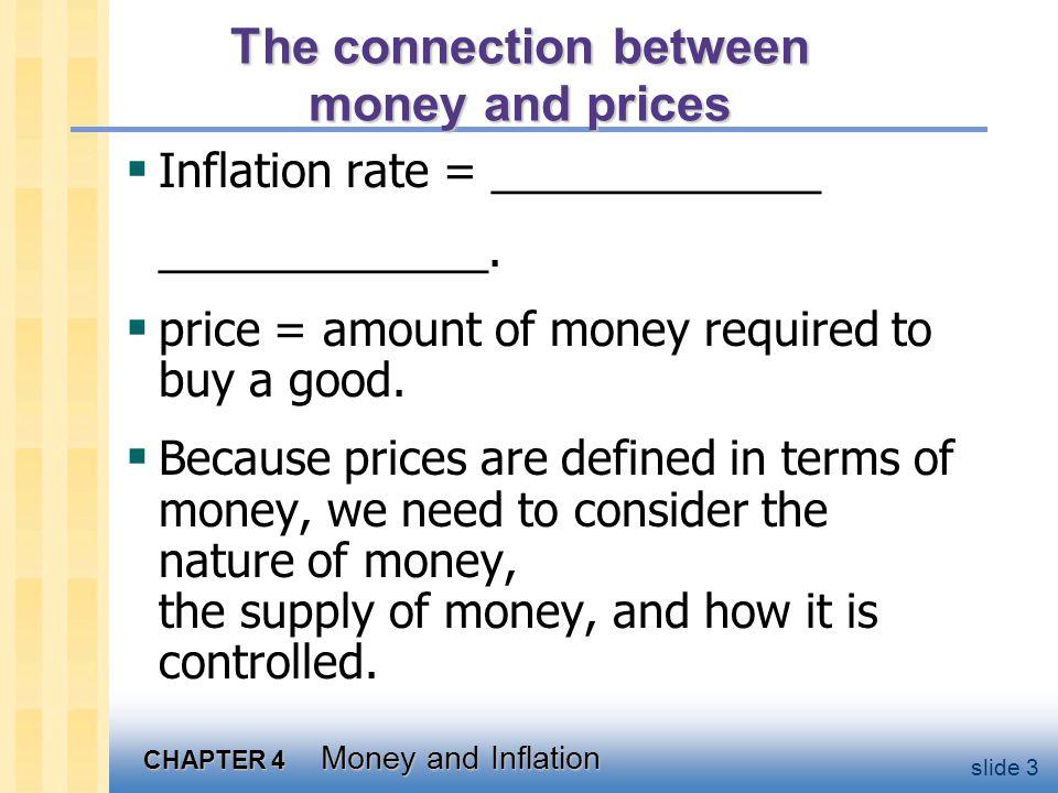 Money: definition Money is _____ _______________ _______________.