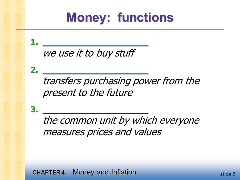 Money: types ____________ has no intrinsic value