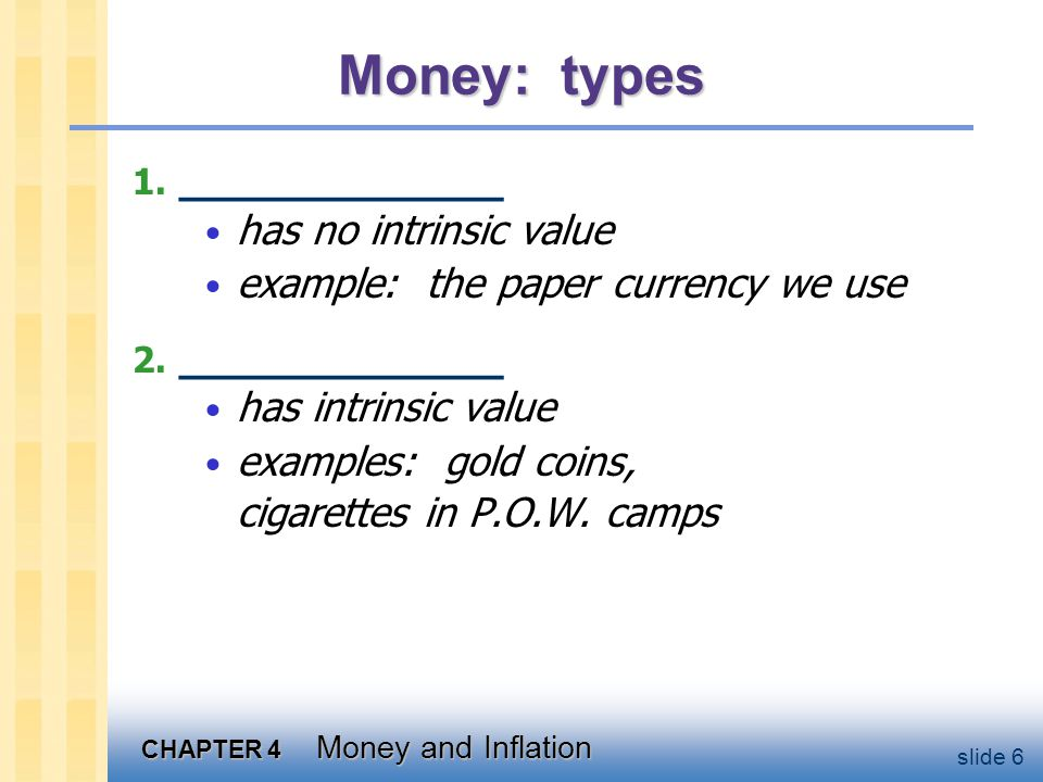 Discussion Question Which of these are money a. Currency b. Checks