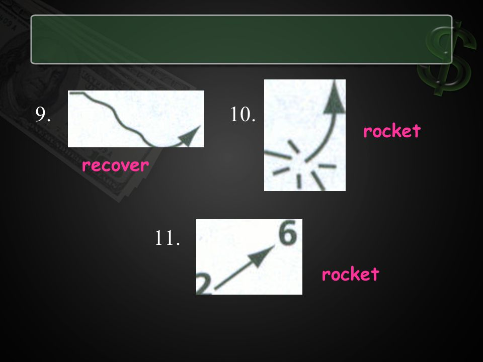 10. 11. rocket recover rocket