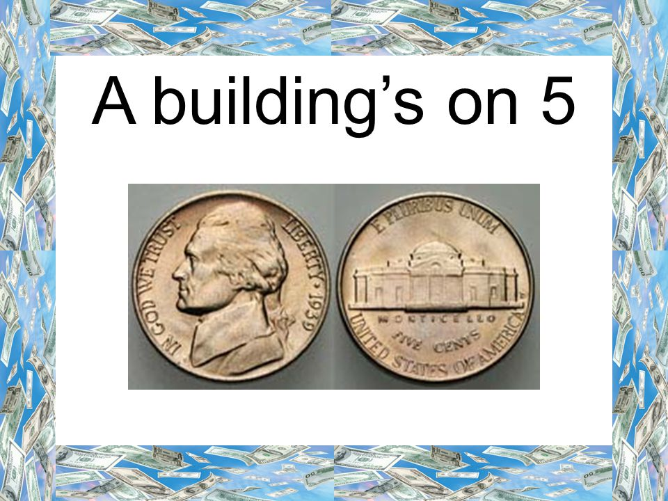 A building's on 5