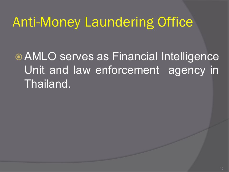 Anti-Money Laundering Office