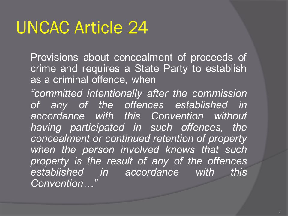 UNCAC Article 24