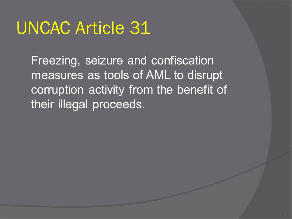 UNCAC Article 31